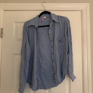 Flowy button down from Francesca's